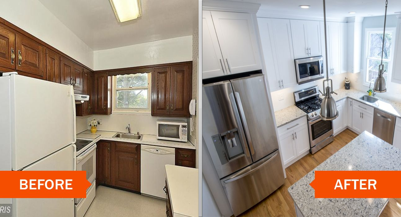 Remarkable Kitchen Remodel Before And After Pictures Of Condo Florida Condo Decorating Together