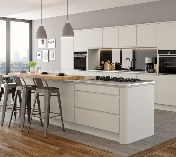Remarkable Modern Contemporary Kitchen Of Kitchens Colemans Bedrooms Strada Matte Painted Porcelain