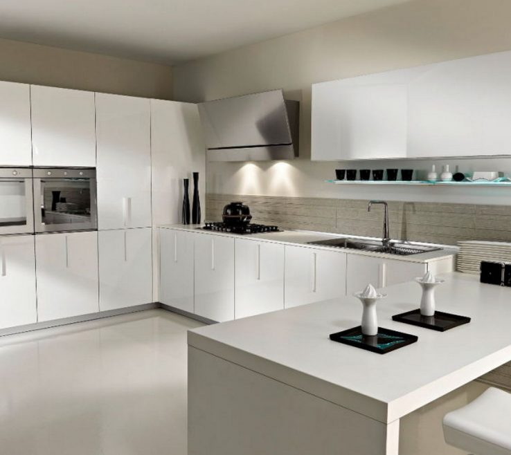 Remarkable Modern Kitchen S Of Superbealing Modern Kitchen And White Modern Kitchen Island With White Minimalis Dining Chairs