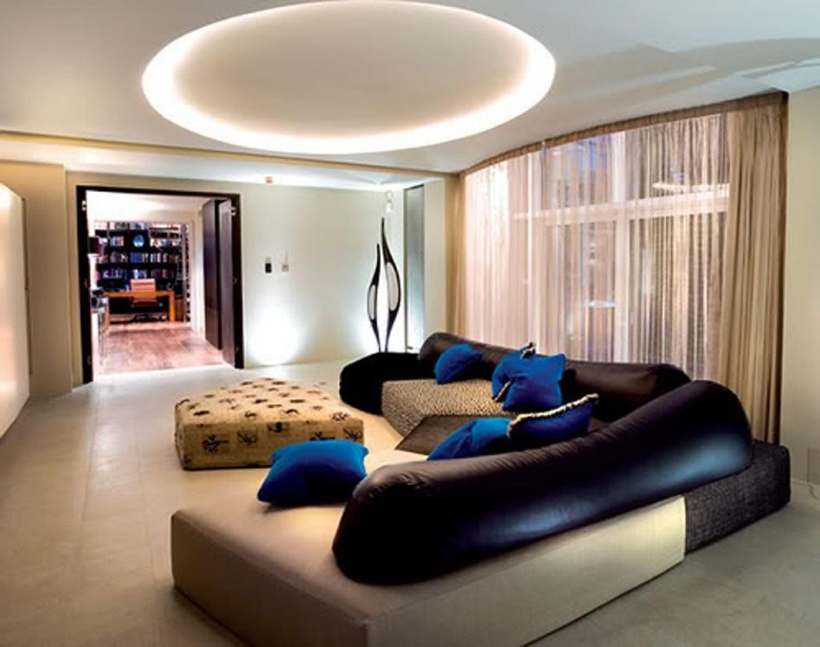 Modern Living Room Lighting Of Adorn