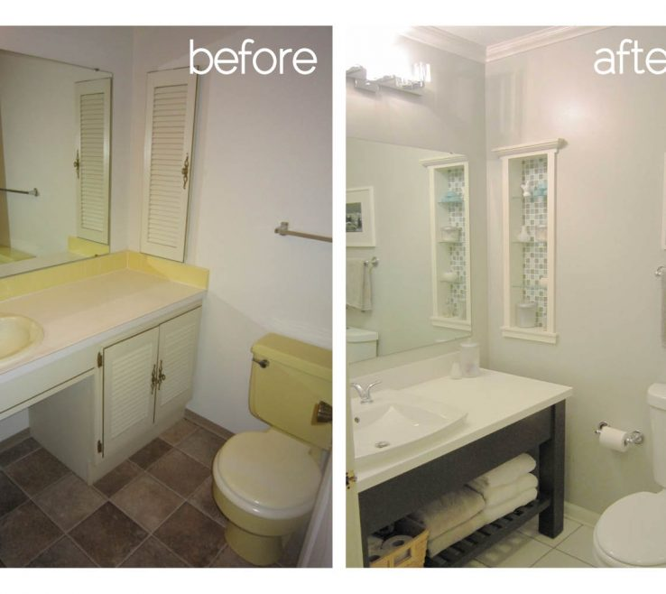 Remarkable Small Bathroom Remodels Before And After Of More Photos