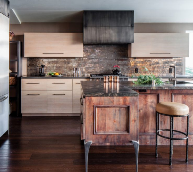 Rustic Contemporary Kitchen Of Modern Furniture