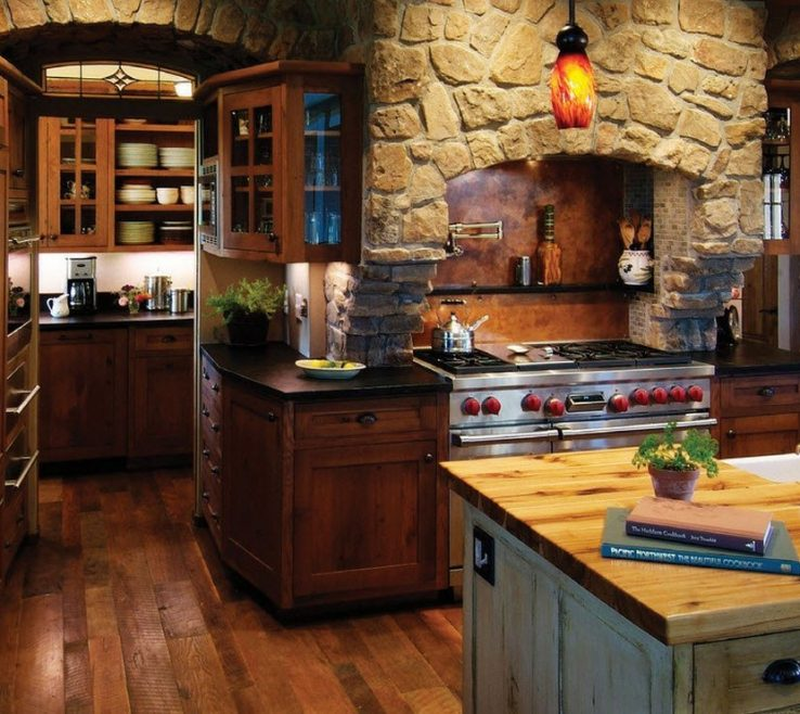 Rustic Kitchen Designs Of Interior Design