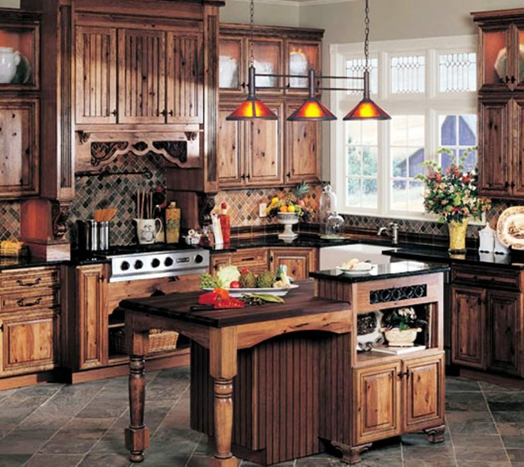 Rustic Kitchen Pictures Of Best Colors For S