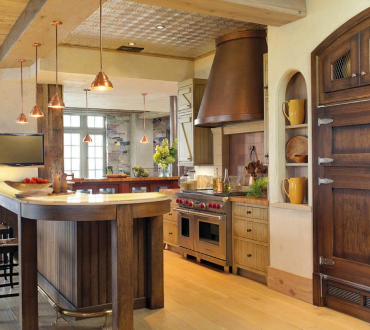 Rustic Style Kitchen Of Gallery Images Of The Country Design