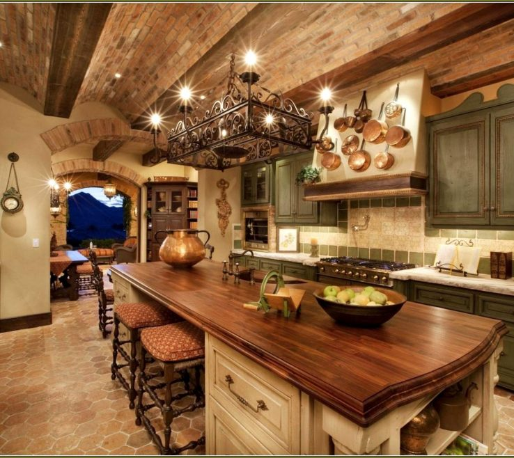 Rustic Style Kitchen Of Outstanding Ethnic Island Wheels Ideas S Magnificent