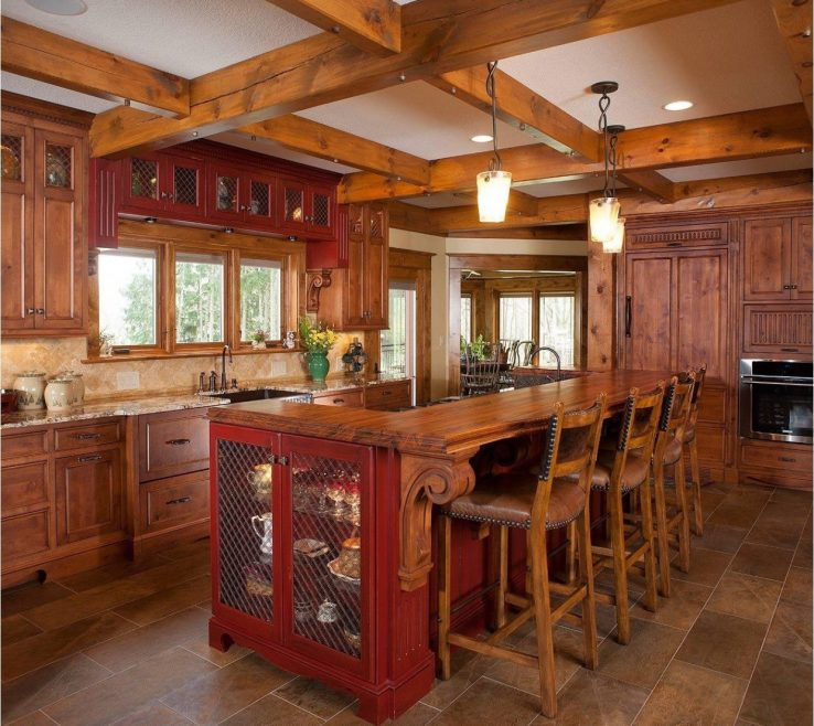 Small Rustic Kitchen Of Designs Fresh Design Beautiful Of 17