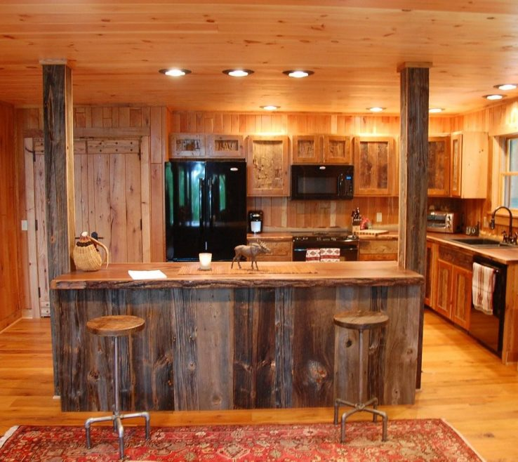 Small Rustic Kitchen Of Image Of: Kitchens