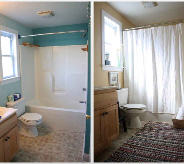 Sophisticated Bathroom Makeovers Before And After Of Awesome Small Uk