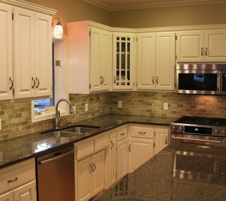 Sophisticated Black Granite Kitchen S Of The Best Backsplash Ideas For Home