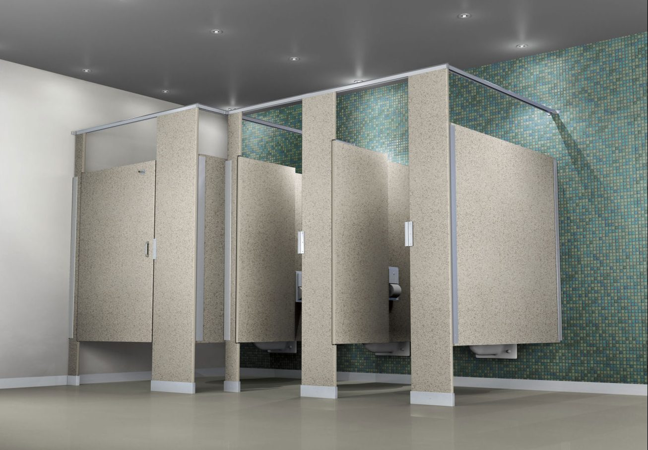 Superbealing Bathroom Partition Walls Of Hdpe Toilet Partitions Everything You Need