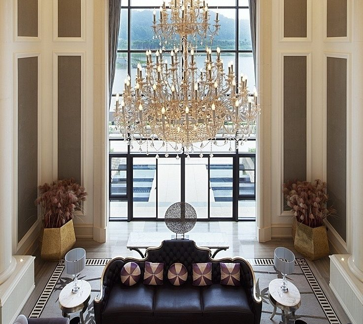 Superbealing High Ceiling Living Room Of Gallery Of: Best Ideas Design Amazing Design