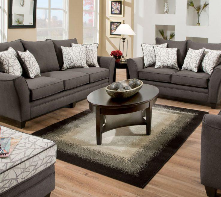 Superbealing Living Room Set Ideas Of Dark Grey Sets