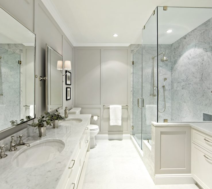 Superbealing Master Bathroom Showers Of 14 Best Makeovers: Before & After Remodels