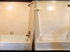Bathroom Tile Refinishing