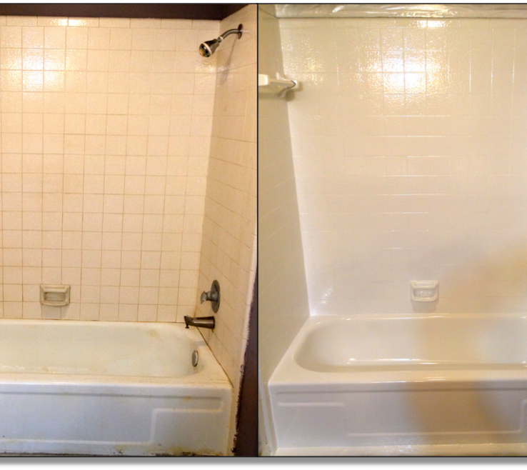 Terrific Bathroom Tile Refinishing Of Painted Tiles Before And After Google