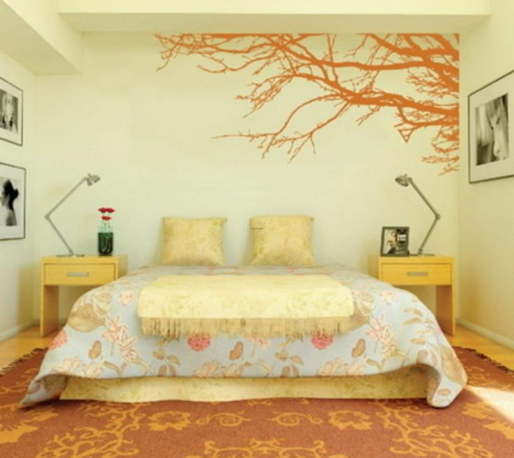 Terrific Bedroom Paint Design Of Painting Designs Romantic Wall For Bedrooms Sponge