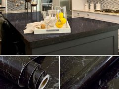 Black Marble Kitchen Countertops