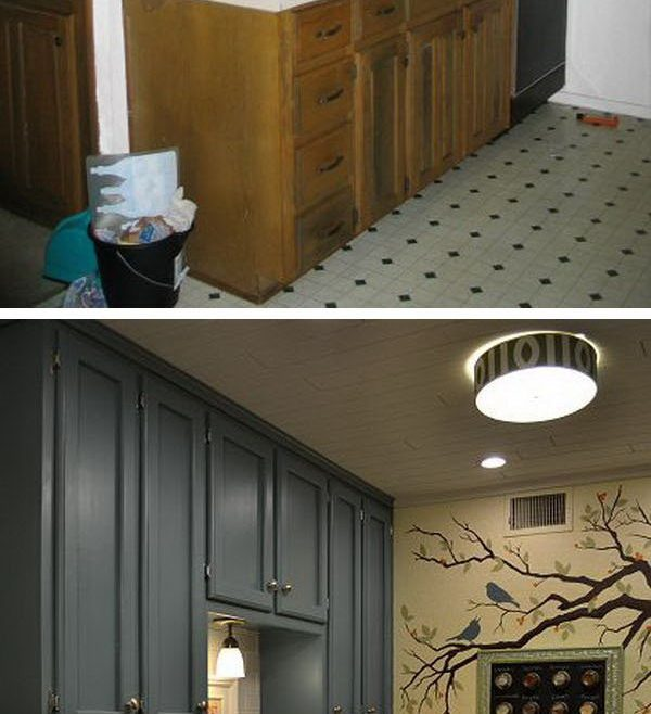 Terrific Kitchen Remodel Ideas Before And After Of After: Teeny Tiny Cheap Makeover