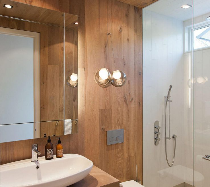 Unique Best Bathroom Designs Of 21. Fragrant And Warming Cedar Sauna