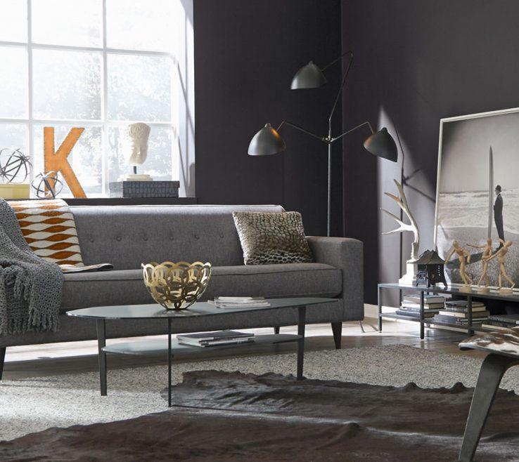 Unique Gray Paint Living Room Of Neutrals