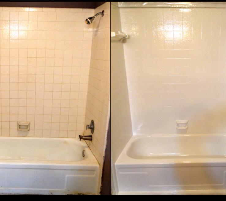 Unique Reglazing Bathroom Tile Of Tile Reglazing Picture