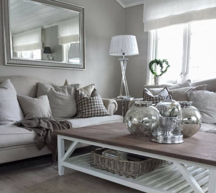 Vanity Grey Living Room Decor Of Ideas And Cream