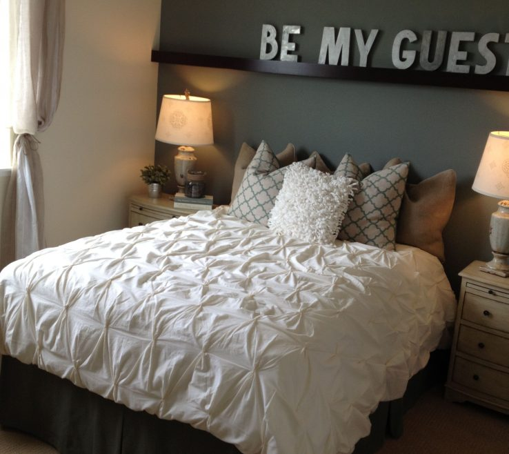 "Vanity Guest Bedroom Decor Of Love The Wall Shelf And ""be My"