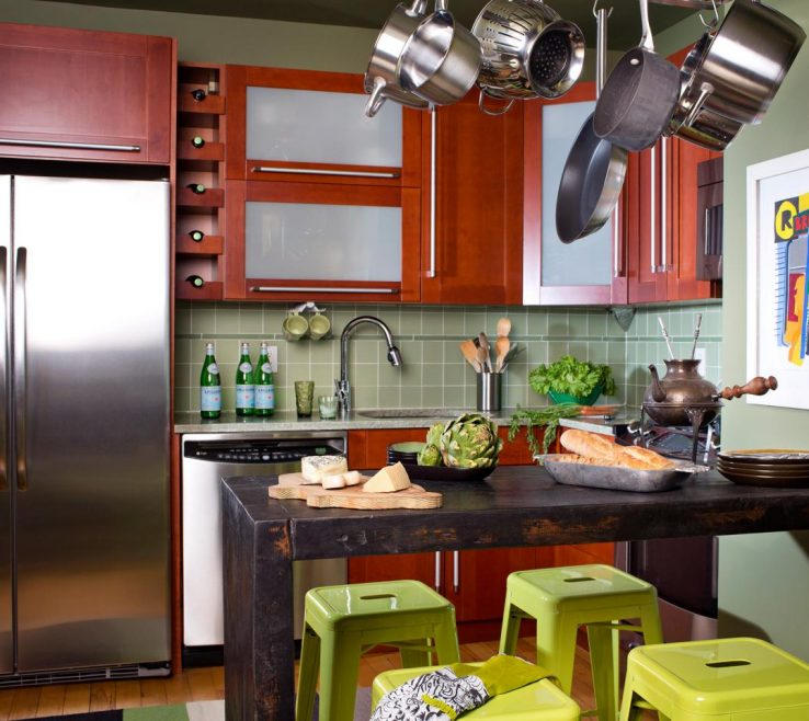 Vanity Kitchen Ideas For Small Spaces Of Eat In