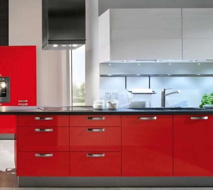 Vanity Red Kitchens Of Modern 2017 | Modern Kitchen | Best