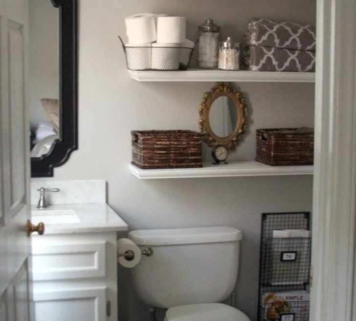 Vanity Very Small Bathroom Storage Ideas
