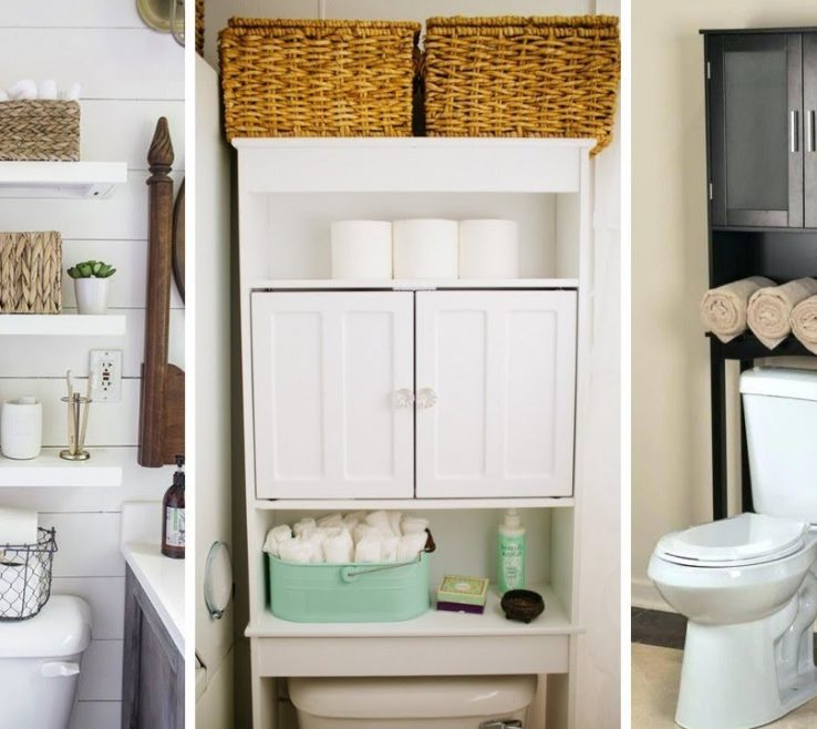 Very Small Bathroom Storage Ideas Of 50 Over Toilet