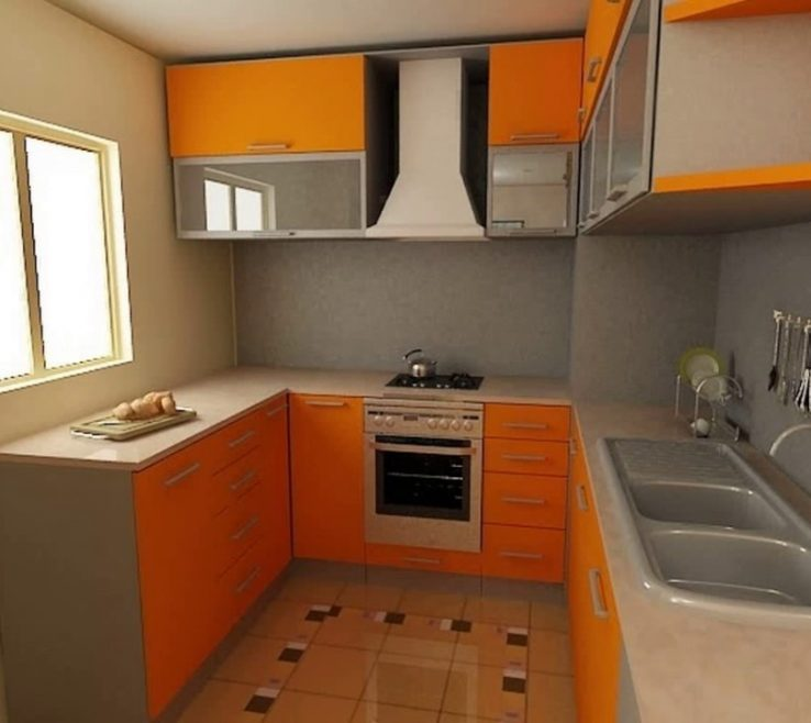 Very Small Kitchen Design Of Galleryn Photos