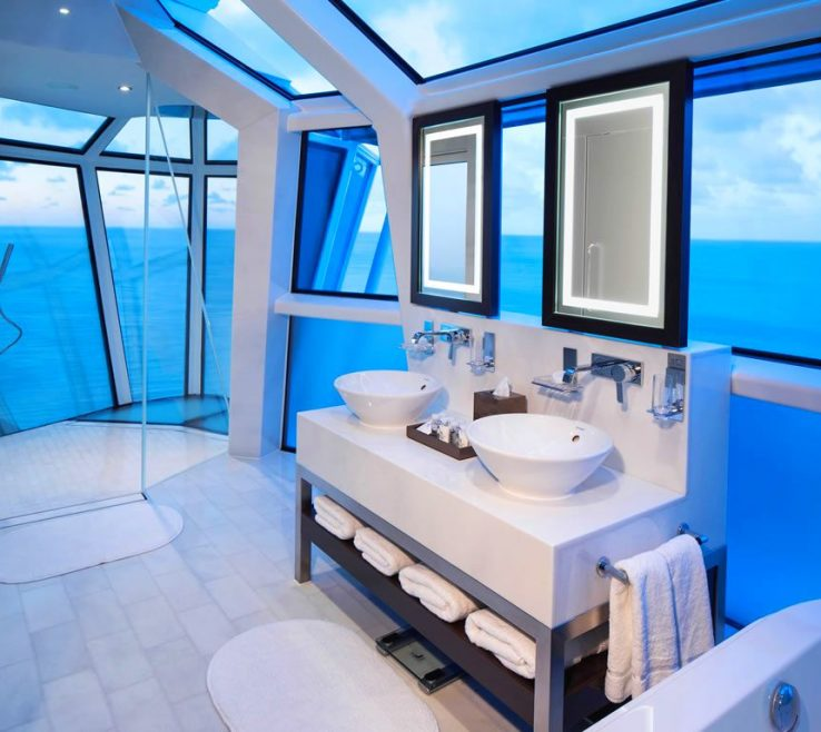 Wonderful Best Bathrooms Of Celebrity Reflection Suite Bathroom