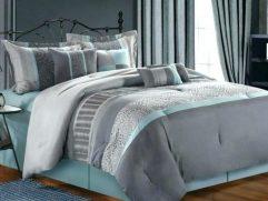 Blue Gray Bedroom