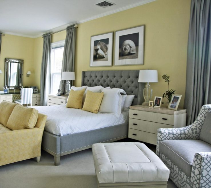Wonderful Gray Color Bedroom Of What To Paint Your