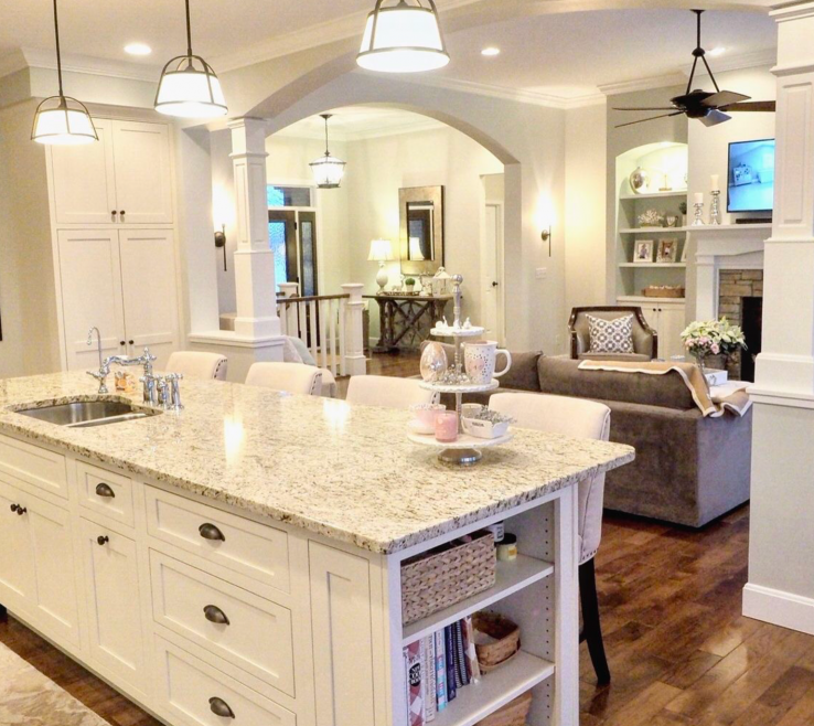 Wonderful Kitchen Remodels With White S Of Kitchen, Off White S, Sherwin Williams Conservative Gray,