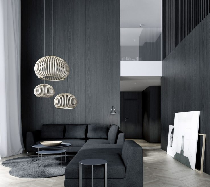 Wonderful Monochromatic Living Room Of Decor Motivational 30 Minimalist Ideas Inspiration