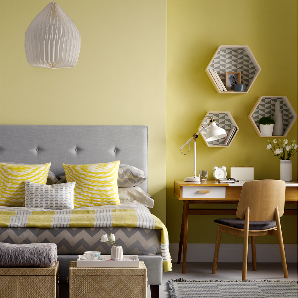 Yellow Bedroom Walls Of Yellow Bedroom Ideas 4