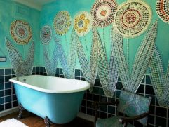 Green And Turquoise Decor