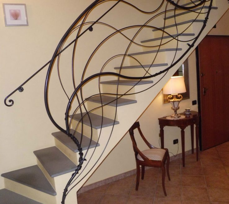 Adorable Indoor Stair Railing Pictures And Ideas Of Wrought Iron Kits