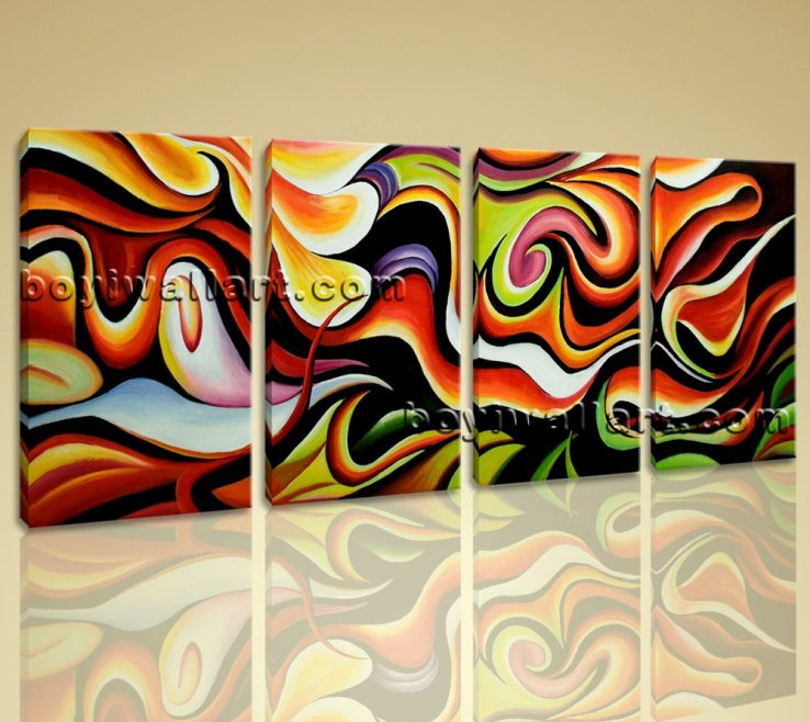 Adorable Modern Painting Ideas Of Huge Wall Art Abstract Home Decoration Canvas