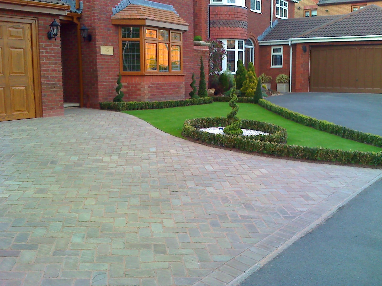 Alluring Driveway Designs Ideas Of Brilliant Front Garden And With
