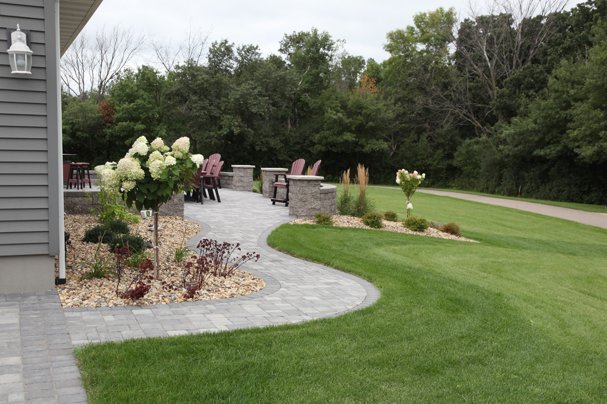 Alluring E Driveway Designs Of Image Of Walkway Landscape Ideas