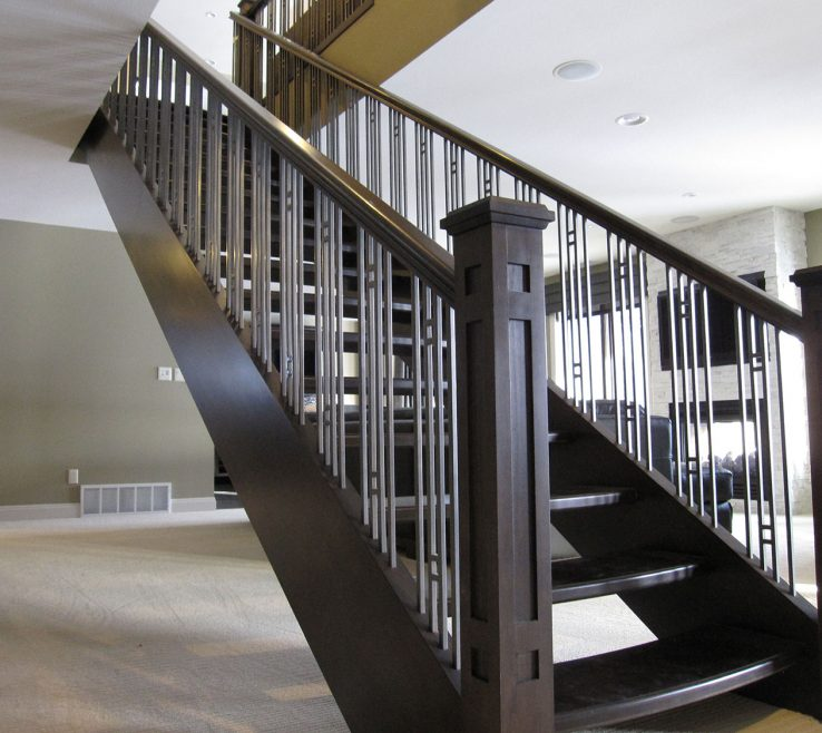 Alluring Indoor Stair Railing Pictures And Ideas Of Interior Design For Modern Wood Best Choice
