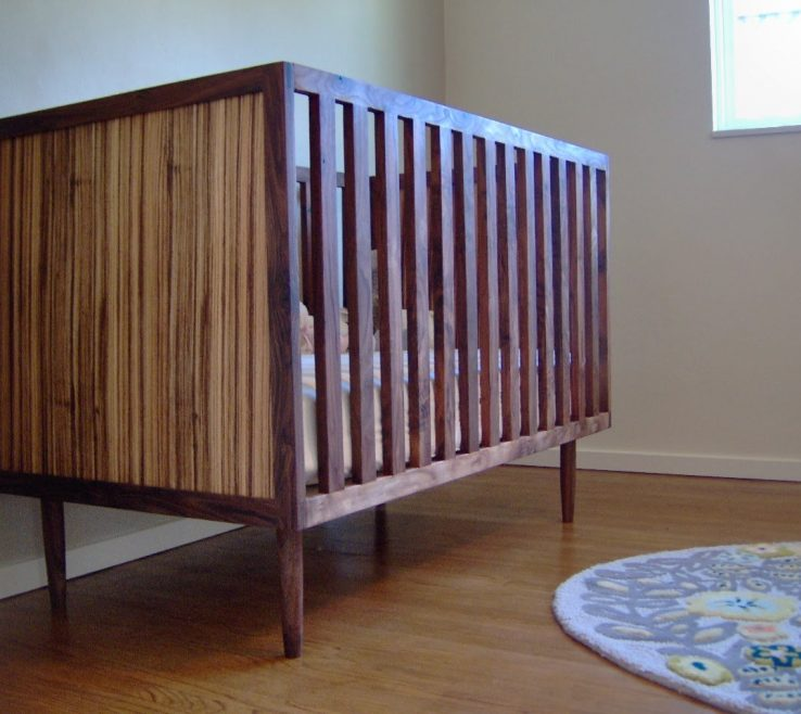 Alluring Mid Century Modern Baby Crib Of Fayes
