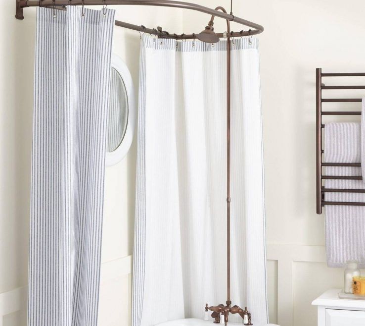 Alluring Ual Window Treatments Of And Beautiful Gray Bathroom Shower Curtains Unique