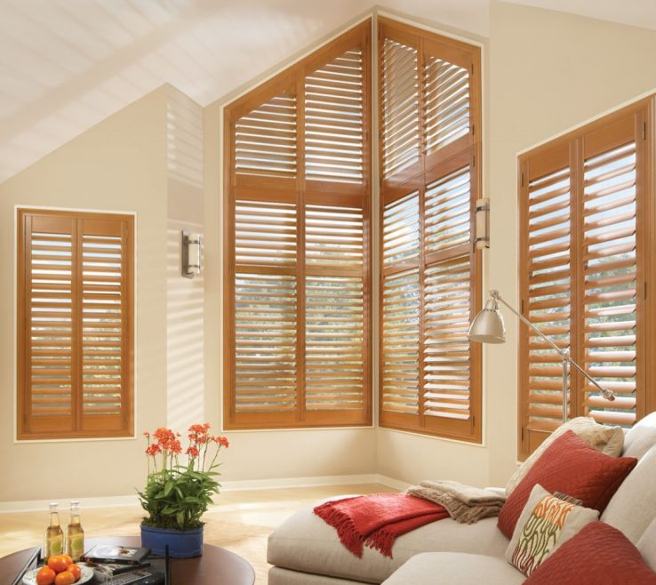 Alluring Ual Window Treatments Of Wood Blinds Best