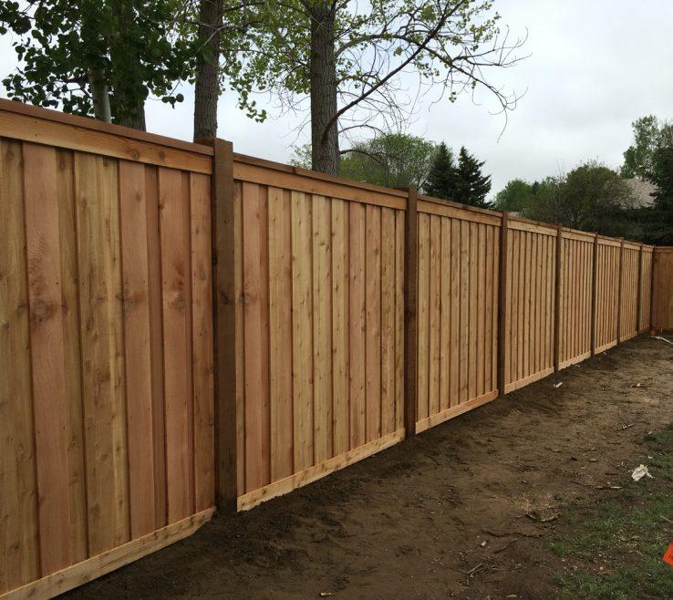 Amazing Attractive Fences Of Good Cedar Privacy Fence