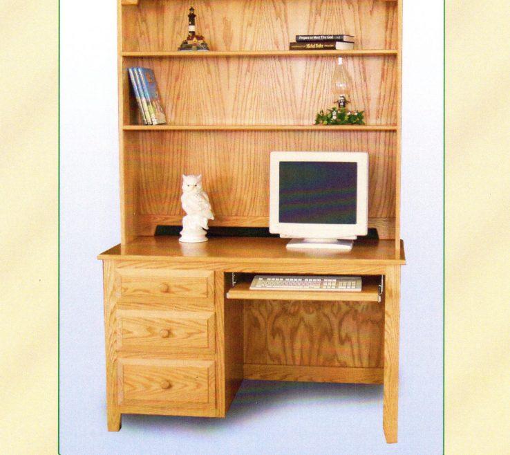 Amazing Bedroom Office Desk Of Hutch Book Shelf